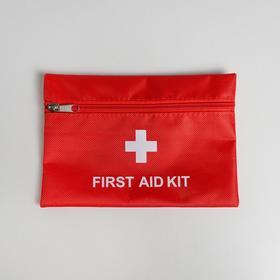 Аптечка дорожная First Aid, 20х14 см Ош