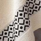 Полотенце махровое Этель «Орнамент», молочное 30х70 см, 100% хл, 370гр/м2 - Фото 2