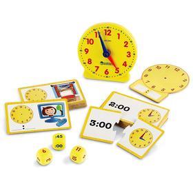Развивающая игрушка «Учимся определять время», 41 элемент