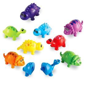 Развивающая игрушка «Собери динозавриков», 18 элементов