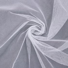 купить Фатин, 150 х 150, см, цвет белый