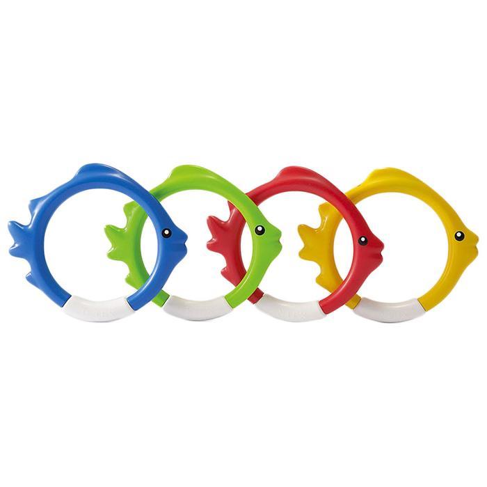 """Кольца для подводной игры """"Рыбки"""", цвета микс 55507"""