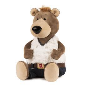 Мягкая игрушка «Медведь» в джинсах, 26 см