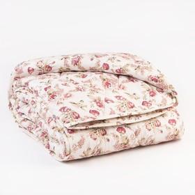 Одеяло «Эконом» тёплое, синтетическое, 145 × 205 см (± 5 см), холлофан, п/э, чехол цвета МИКС, 250 г/м²