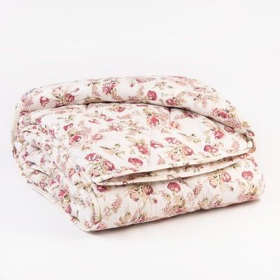 Одеяло «Эконом» тёплое, синтетическое, 145 × 205 см (± 5 см), холлофан, п/э, чехол цвета МИКС, 250 г/м² - Фото 1