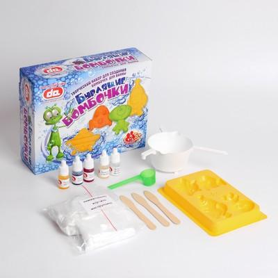 """Творческий набор для создания бомбочек для ванны """"Бурлящие бомбочки. Инопланетяне"""" - Фото 1"""