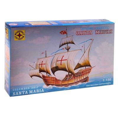 Сборная модель «Корабль Колумба — Санта-Мария» - Фото 1