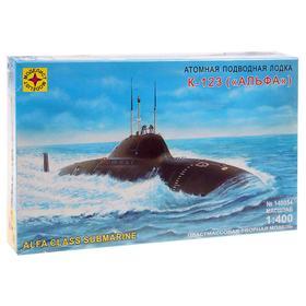 Сборная модель «Атомная подводная лодка К-123 — Альфа»