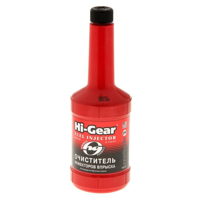 Очиститель инжектора HI-GEAR синтетик на 60-80 л, 473 мл