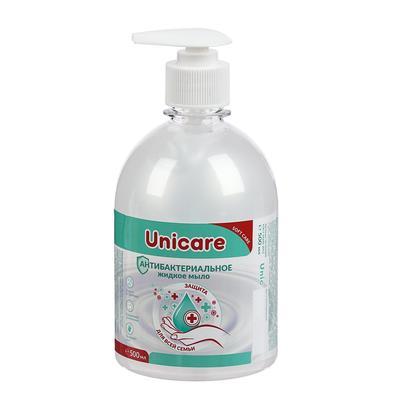 Антибактериальное жидкое мыло UNICARE, 500мл - Фото 1