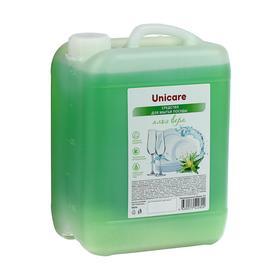 """Средство для мытья посуды """"Алоэ Вера"""" UNICARE, ПВХ, 5л"""