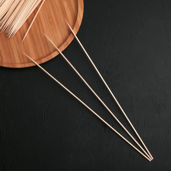 купить Шампур деревянный Komfi, 300,3 см, берёза, по 100 шт