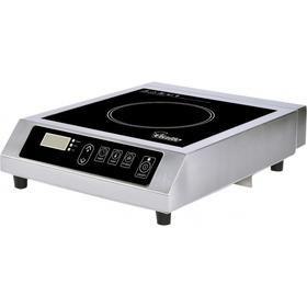 Плита VIATTO VA-IC3541S, индукционная, 3.5 кВт, 1 конфорка, 10 режимов, серебристо-чёрная