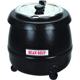 Супница (подогреватель супа) VIATTO SB-6000, 400 Вт, 10 л, 220 V, чёрная Ош