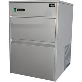 Льдогенератор VIATTO VA-IM-50, 380 Вт, кусковой лёд (пальчики), 50 кг/сутки, серебристый Ош