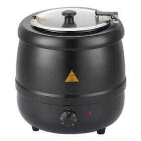Супница (подогреватель супа) VIATTO 83010SP, 400 Вт, 10 л, 220 V, чёрная Ош