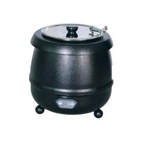 Супница (подогреватель супа) VIATTO SB-6000L, 400 Вт, 10 л, 220 V, чёрная Ош
