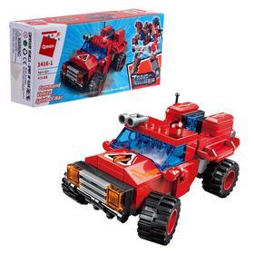 Конструктор Робот «Трансформер-пожарный», 6 видов, МИКС
