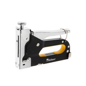 Степлер Kolner KHSG 4-14R, скобы П4-14 мм, U10-12 мм, гвозди 14 мм, с регулировкой усилия