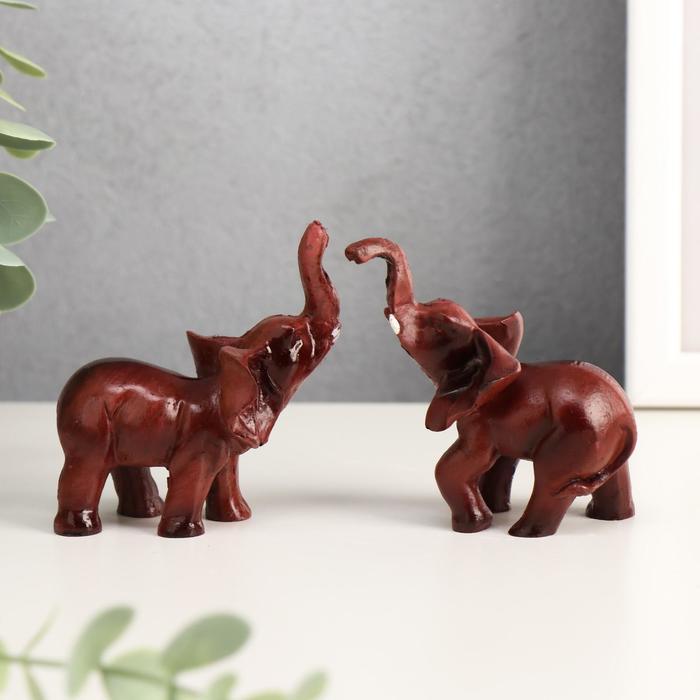 Сувенир Слон под красное дерево МИКС