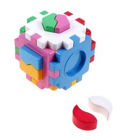 Развивающая игрушка «Куб-сортер: Умный малыш»