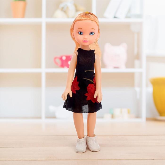 Кукла классическая Марина в платье, МИКС