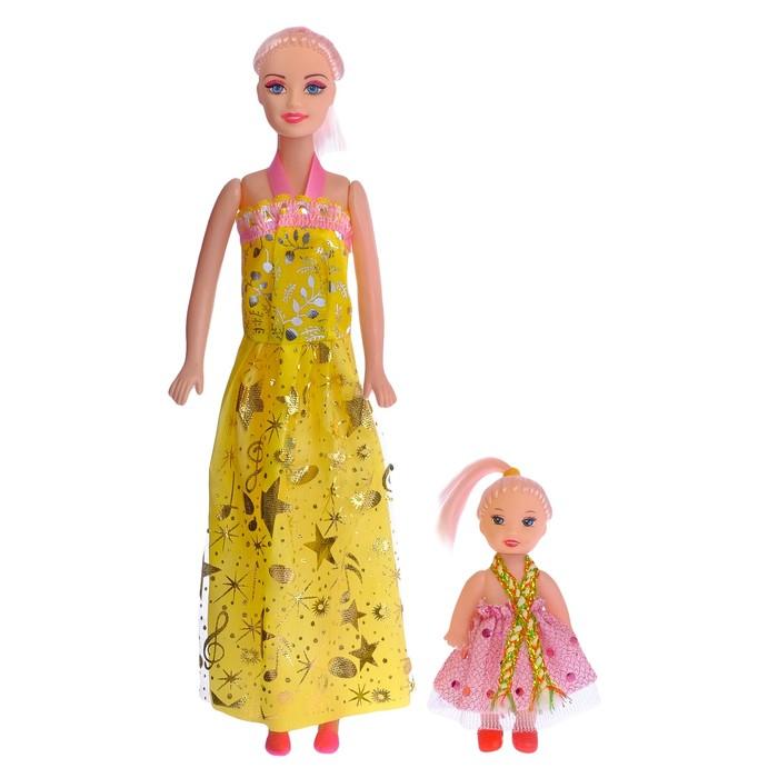 Кукла-модель Каролина с малышкой, МИКС