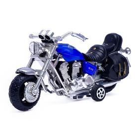 Мотоцикл инерционный «Харлей», цвета МИКС Ош