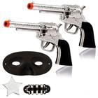 Набор ковбоя «Шериф», 2 пистолета, маска, значок