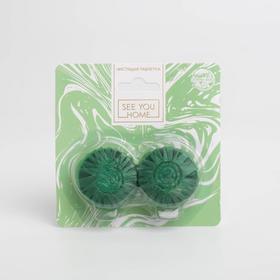 Чистящая таблетка «Лесная свежесть» 2шт, зелёный