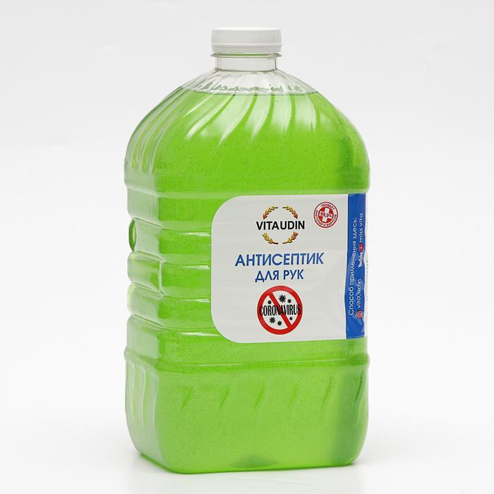 Антисептик для рук VITA UDIN с антибактериальным эффектом, гель 5 литров