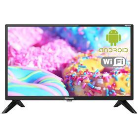"Телевизор Telefunken TF-24S05T2S, 23,6"", 720p, DVB-T/T2/C, 2xHDMI, 2xUSB, SmartTV, чёрный"