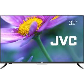"Телевизор JVC LT-32M595S, 32"", 720p, DVB-T2/С, 3xHDMI, 2xUSB, SmartTV, чёрный"