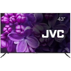 "Телевизор JVC LT-43M695S, 43"", 1080p, DVB-T2/С, 3xHDMI, 2xUSB, SmartTV, чёрный"