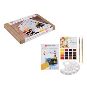 Набор художественный «Сонет», «Акварель», 5 предметов, в картонной коробке Ош