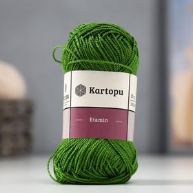"""Пряжа """"Etamin"""" 100% акрил 130м/30гр (К392 зелёное яблоко)"""