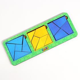 Сложи квадрат Б.П. Никитин, 3 квадрата 4-й уровень