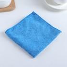 Салфетка из микрофибры универсальная 30×30 см, 200 г/м2, цвет МИКС