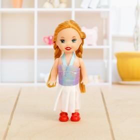 Кукла малышка с косичками, МИКС