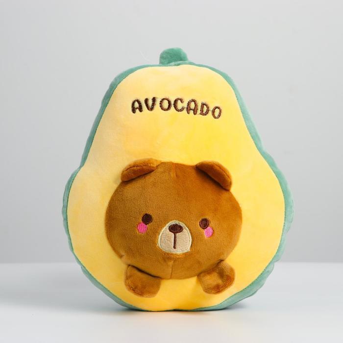 Мягкая игрушка Авокадо, МИКС