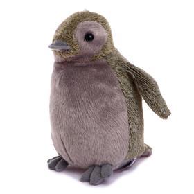 Мягкая игрушка «Пингвин», 18 см, цвет серый