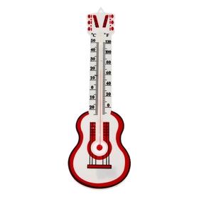 Термометр LuazON, уличный, гитара, пластик Ош