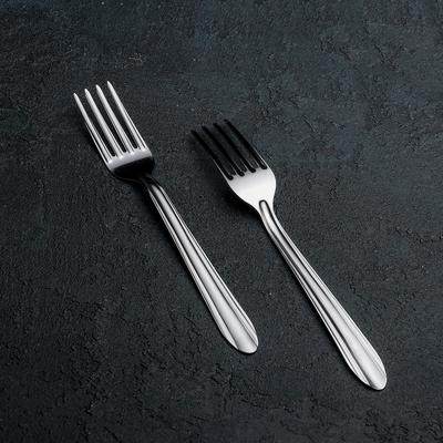 Вилка столовая «Мираж», 19 см, толщина 0,8 мм - Фото 1