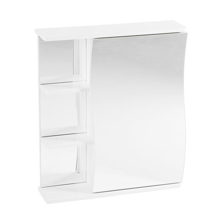 """Зеркало-шкаф """"Волна"""" 60 правое"""