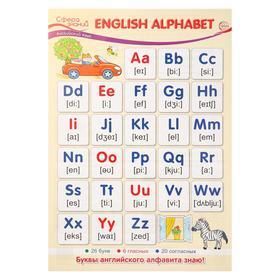 "Плакат ""English Alphabet"" А3"