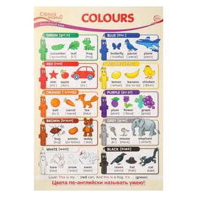 """Плакат """"Colours"""" А3"""