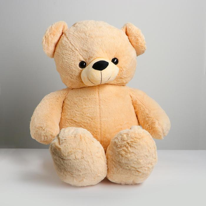 Мягкая игрушка Медведь, 100 см, цвета МИКС