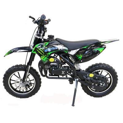 Мини кросс бензиновый MOTAX 50 cc, черно-зеленый