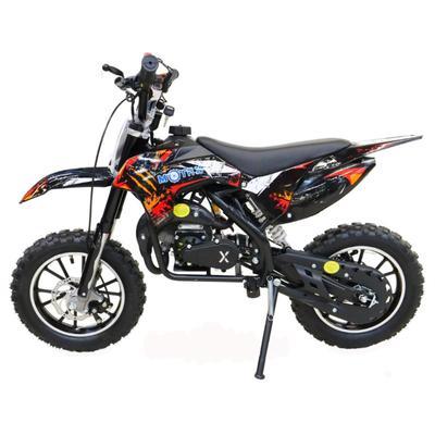 Мини кросс бензиновый MOTAX 50 cc, черно-красный