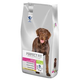 Сухой корм Perfect Fit для собак средних и крупных пород, курица, 4,5 кг